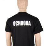 Tshirt czarny ochrona